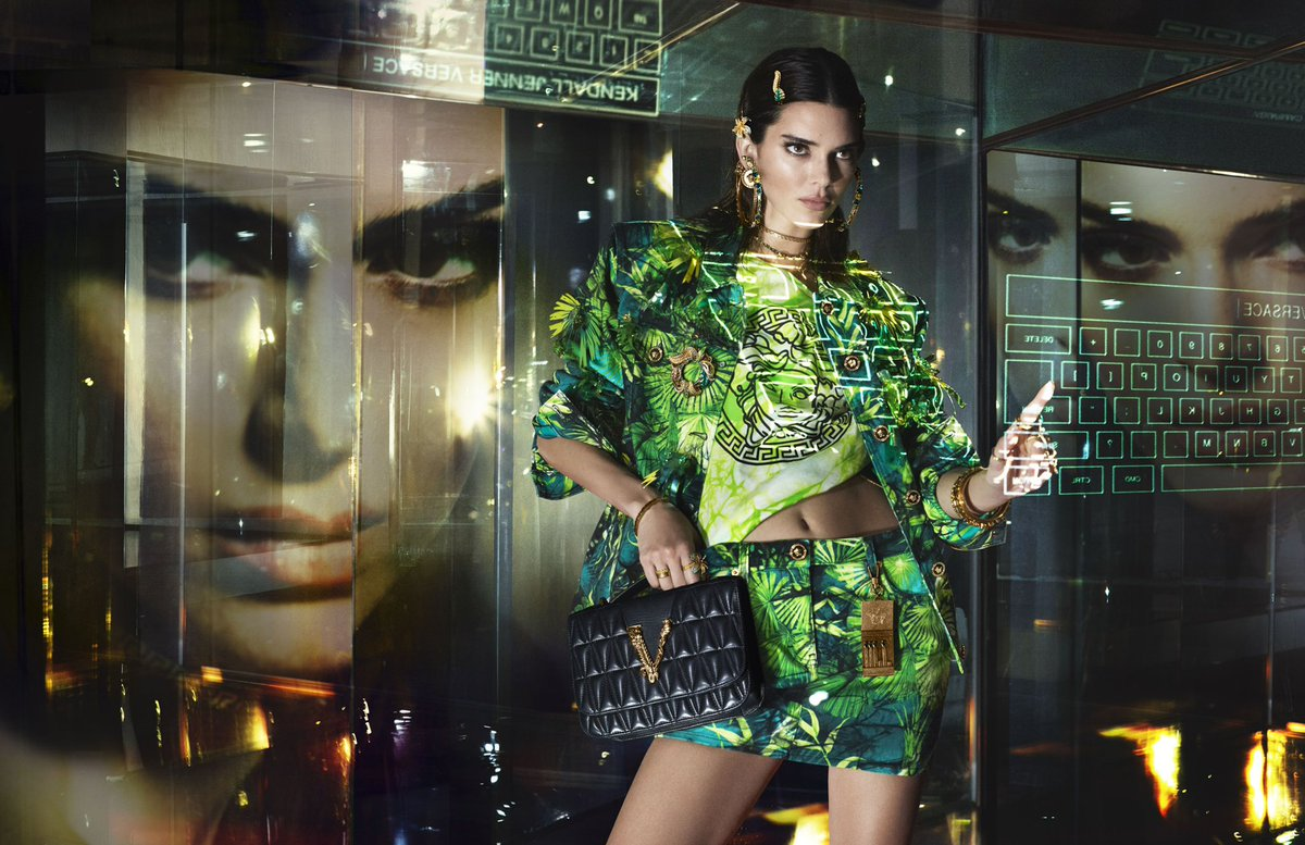 NEW @Versace CAMPAIGN BY MERT&MARCUS