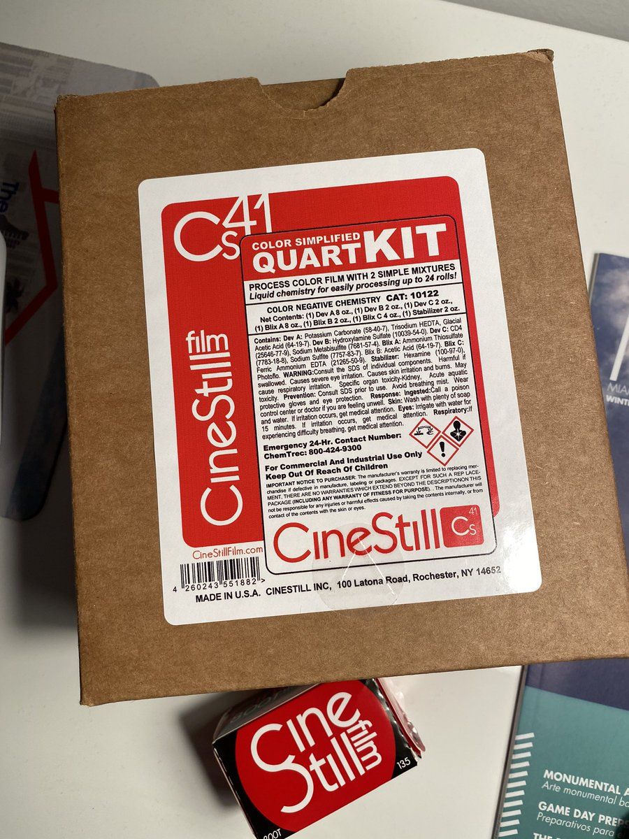 So excited!!!  I can't wait to start doing my own developing with  @CineStillFilm #film #filmphotography #KeepfilmAlive #photographypic.twitter.com/DxtL4qNEbQ