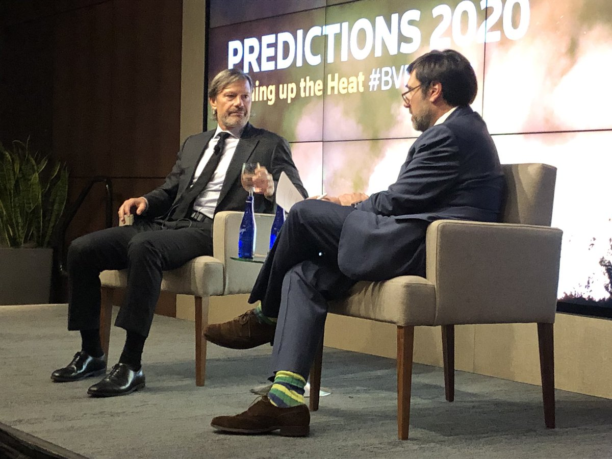 One day, Coca-Cola's valuation will fall and activists will come knocking, as the market grasps the fact that it's products cause diabetes. Jeff Ubben chats with @rob1cox at #bvpredicts @reuters @breakingviews #esg