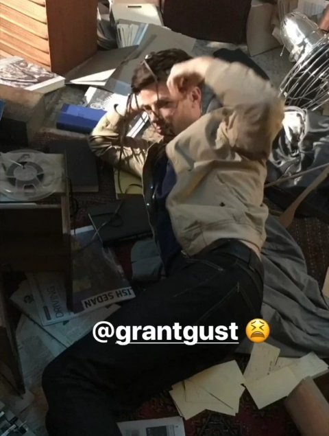 Happy Birthday to this dorky lil bean, Grant Gustin!