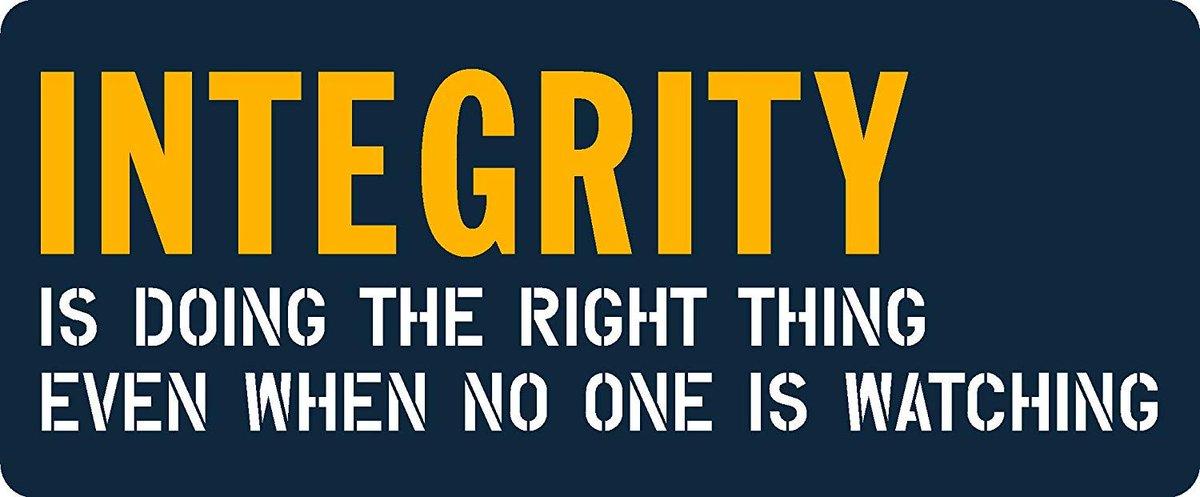 Enough said...  #integrity #marketing #marketingtips #entrepreneurs #SmallBiztips #smallbiz #businessowner #businessowners #growthmindset #branding #marketing #value<br>http://pic.twitter.com/HGrBCf80IY