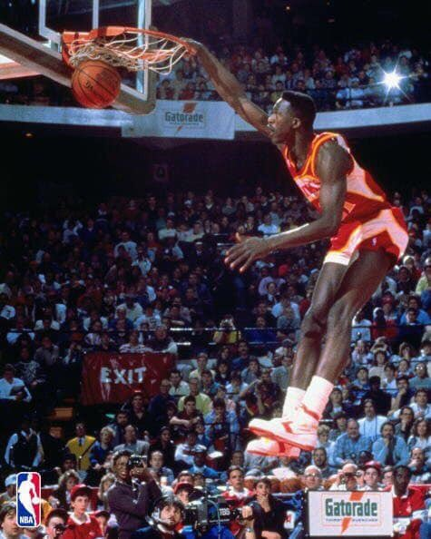 "Happy 60th Birthday to ""The Human Highlight Reel\"" Dominique Wilkins."