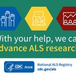 Image for the Tweet beginning: The National ALS Registry collects