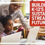 Image for the Tweet beginning: Transforming K-12 education processes starts