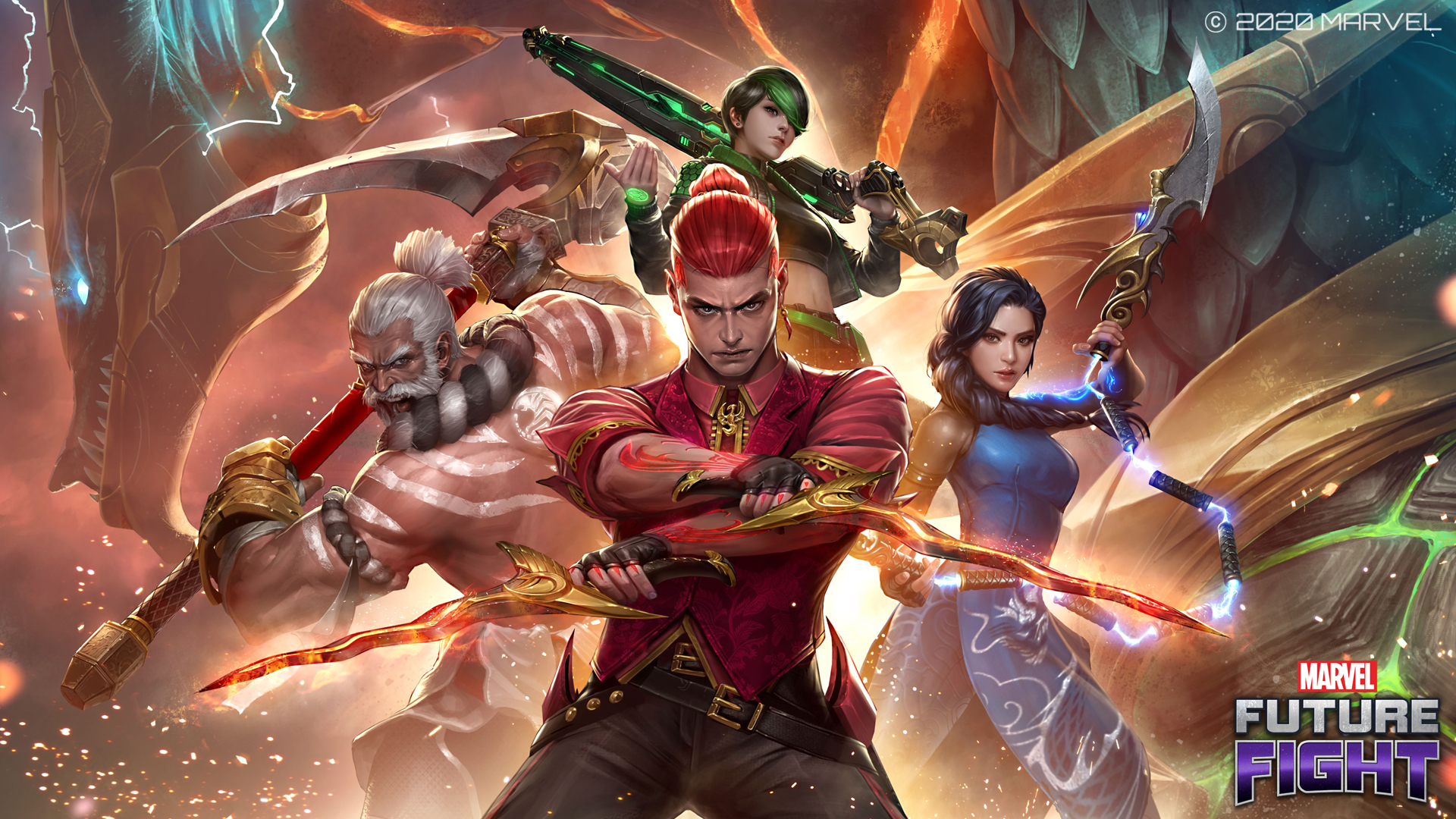 Marvel Future Fight Pa Twitter Take The Warriors Of The Sky With