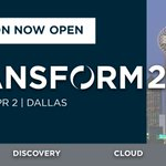 Image for the Tweet beginning: Registration is open for #TRANSFORM2020.