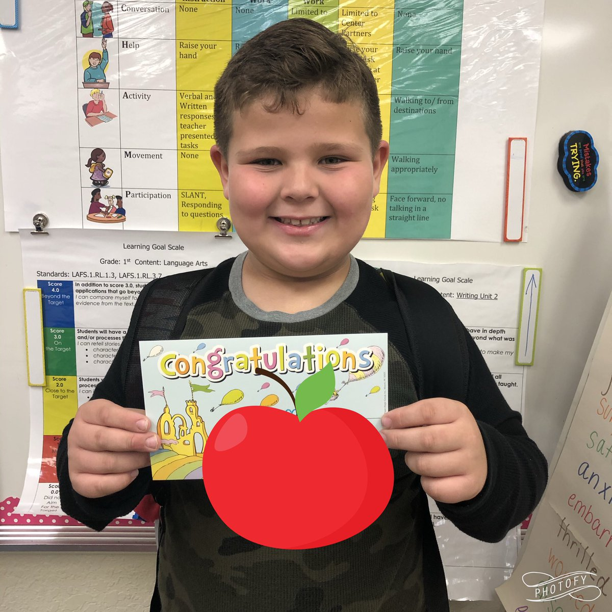 Love it when hard work pays off! Way to go! 👏 👏 👏 @ElbridgeGaleES Thank you, @1stmissbauer 📚 🐛 https://t.co/BO73iVQweS