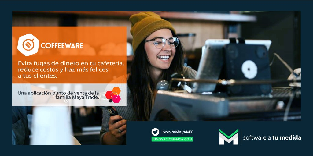 #enterate ¿Tienes una #Cafeteria  y necesitas optimizar sus procesos para hacer más felices a tus clientes? 😃 Pregunta por #Coffeware y nuestros otros #PuntosDeVenta 222 237 4715 🙂 ¡Tenemos uno #AtuMedida! #softwaredevelopment #Software #desarrolloDeSoftware