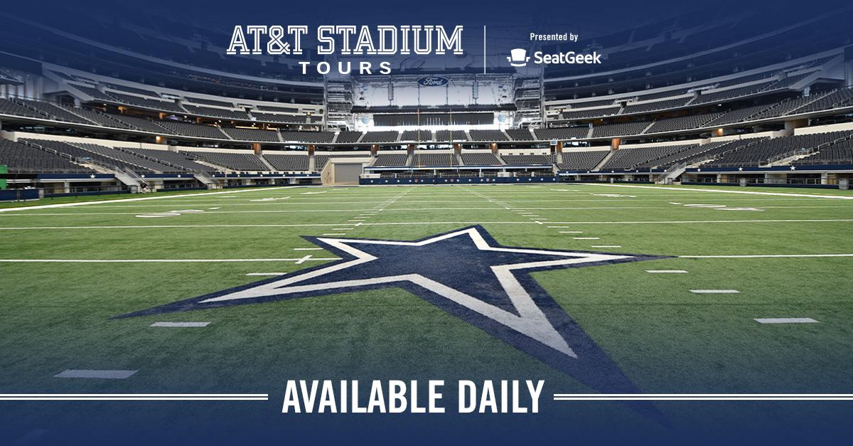 #ATTStadium is more than the home of the @dallascowboys, it's a world of facts and figures! Take an afternoon to throw the 🏈 on the field or admire the art with an AT&T Stadium Tour.✨ Check out all of the different tours at #ATTStadium ➡ attstadium.com/tours/