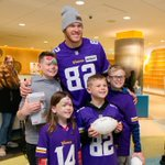 Image for the Tweet beginning: Congratulations to @KyleRudolph82 for taking