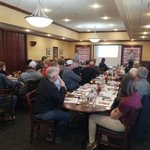 Image for the Tweet beginning: Excellent Burrus meeting today in