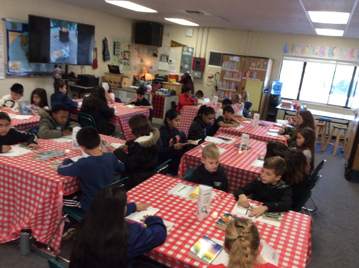 Mighty Moose our first Book Tasting. Meet your next book genre! @NMTimberwolves
