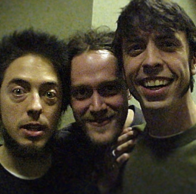 Happy Birthday Dave Grohl! Throwback pic 1999.