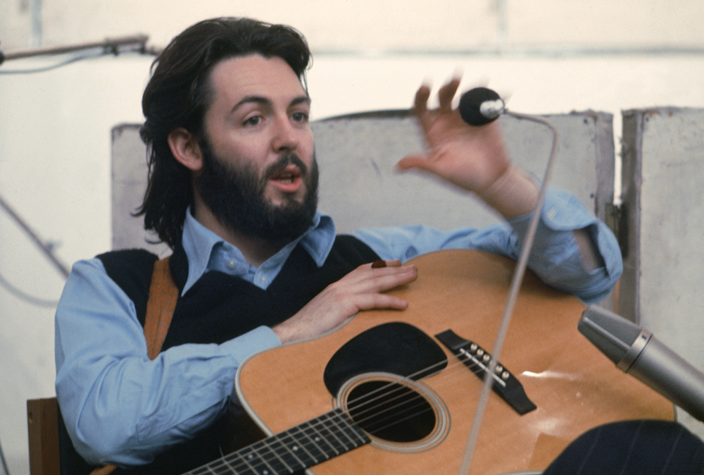 """Beatles Archive on Twitter: """"Paul McCartney The #Beatles Get Back / Let It  Be sessions 1969… """""""