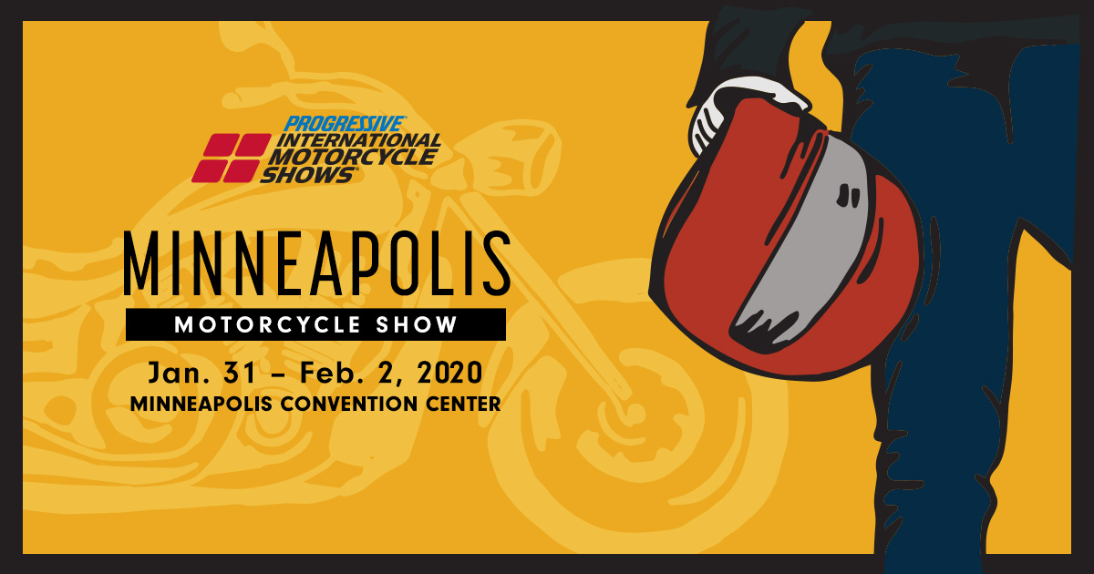 From Jan. 31 to Feb. 2, at the Minneapolis Convention Center, is this year's Minneapolis Motorcycle Show!  Be sure the stop by the Cycle Gear Mega Booth! There will be gear from the top brands that you love and special offers from Cycle Gear!  For tickets: https://t.co/X7mkGFqsTP https://t.co/QjIBxaBcg9