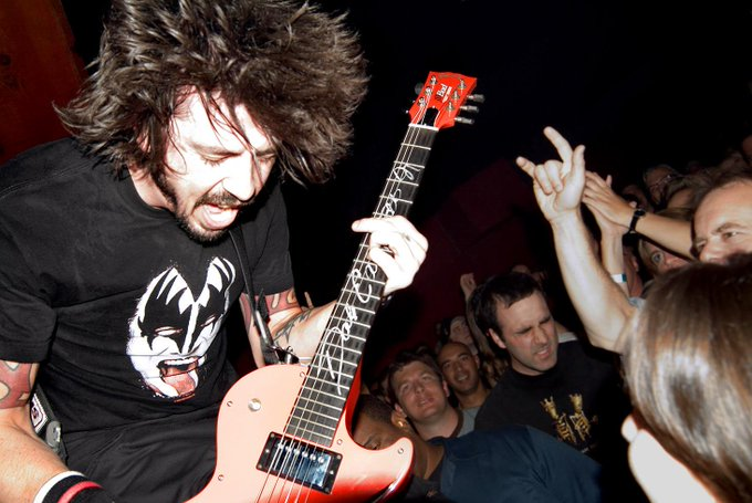 Happy Birthday to Dave Grohl !