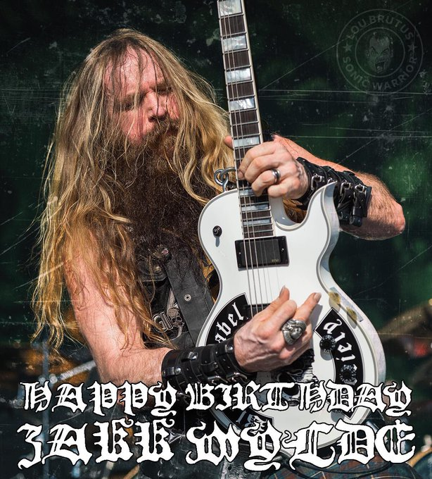 Happy Birthday to Zakk Wylde!