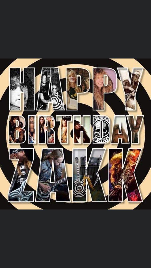 Hey Happy Birthday Zakk Wylde       hope you have a great BLS Day SDMF