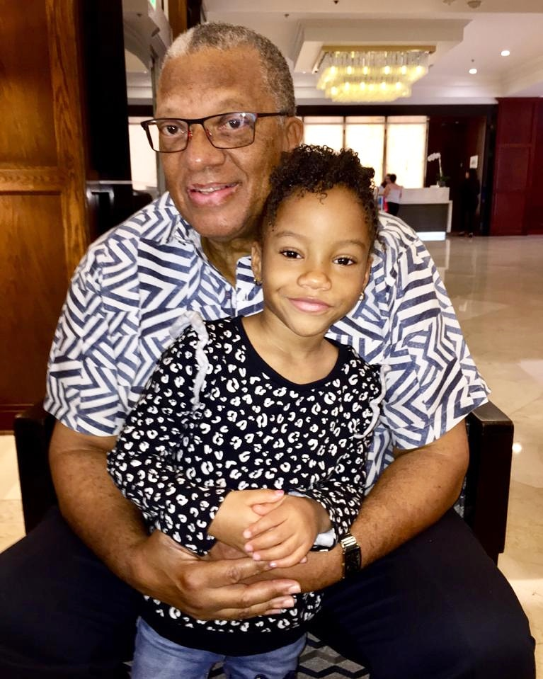 There are places in your heart you don't even know exist until you have grandchildren. Meet my beautiful granddaughter Amani. #ThisIsLove #Family #AmaniAndGrandpa https://t.co/sX8YFCvnCU