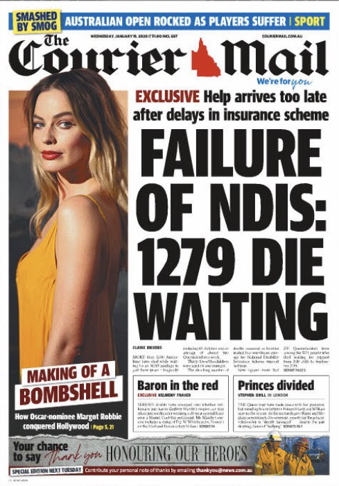 Not good enough. A vital scheme's neglect hurting Australians with disability. #NDIS
