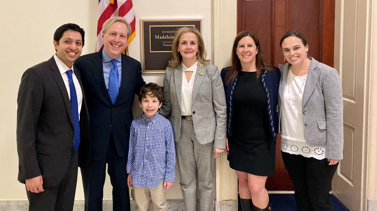 It was great to get to know Jax and his parents. Thank you for coming to Congress and educating me on the need for increased @NIH funding for celiac disease. I look forward to joining you in this effort, because as @ChildrensPhila says cures can't wait!