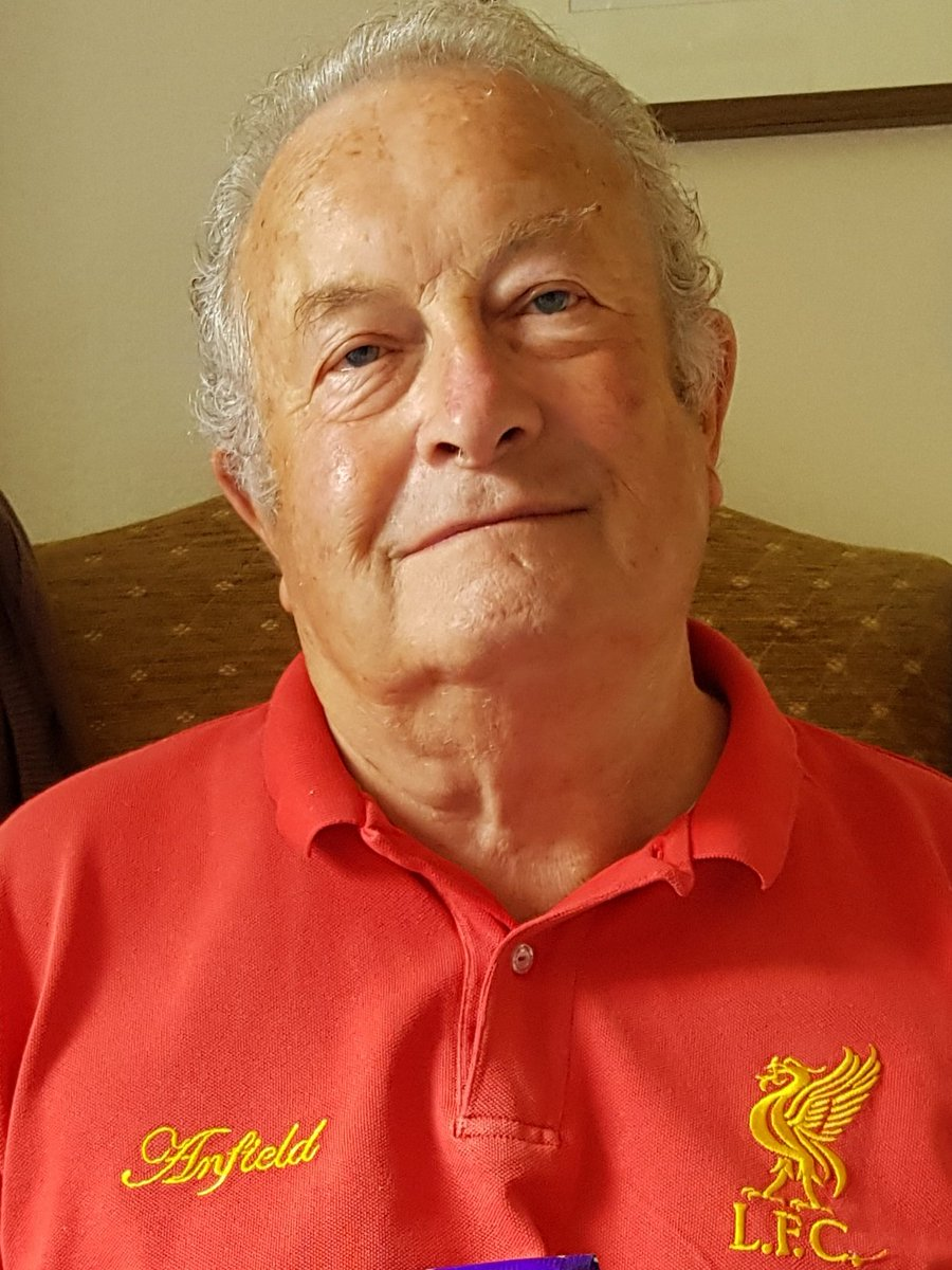 'Nod to Dad' who passed away last Tuesday. A Shrewsbury fan since 1950 and also followed Liverpool. Before he passed away he knew Shrews or Bristol City would play Liverpool. His last game was v Portsmouth in safe standing. Aaron Pierre's rocket fires us into 4th round  #salop <br>http://pic.twitter.com/lmWwUpaLKd
