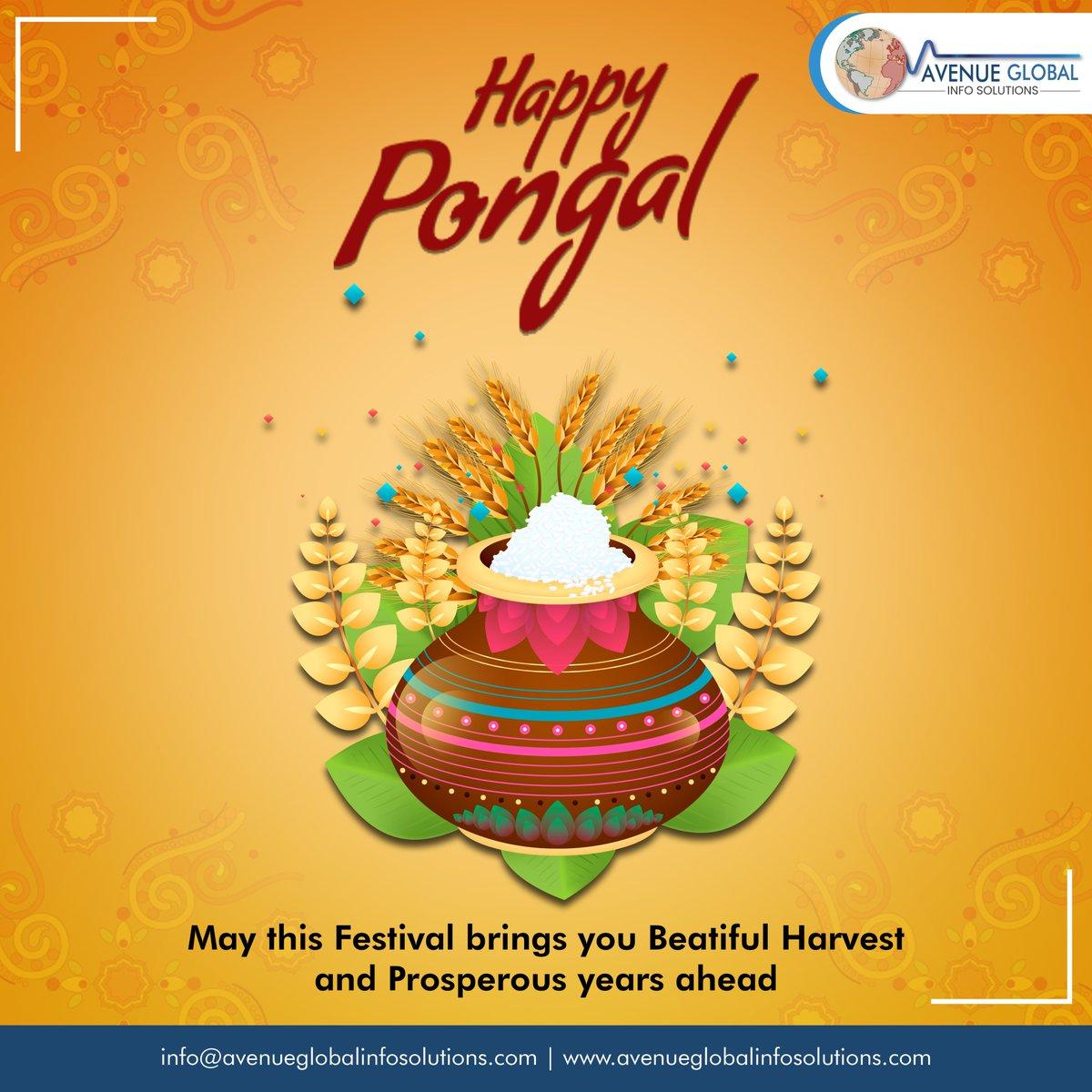 Happy Pongal have Prosperous Year Ahead!! #pongal  #tamil #karnataka #pongal2020  #pongalcelebration #pongalspecial #pongalfestival #pongalwishes #pullingo #tamilnadu  #Avenueglobalinfosolutions #avenueglobal #AGIS #Webdesigning #Digitalmarketing #Websitedevelopment #instatechno pic.twitter.com/UYeUiHuZdb
