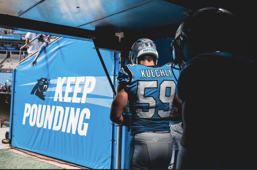 Sad day @LukeKuechly You will be truly missed on #GameDay thank you for your passion for the game  watching you play has been a highlight for 8 years #KeepPounding #PanthersNationpic.twitter.com/pM4MjoSif4