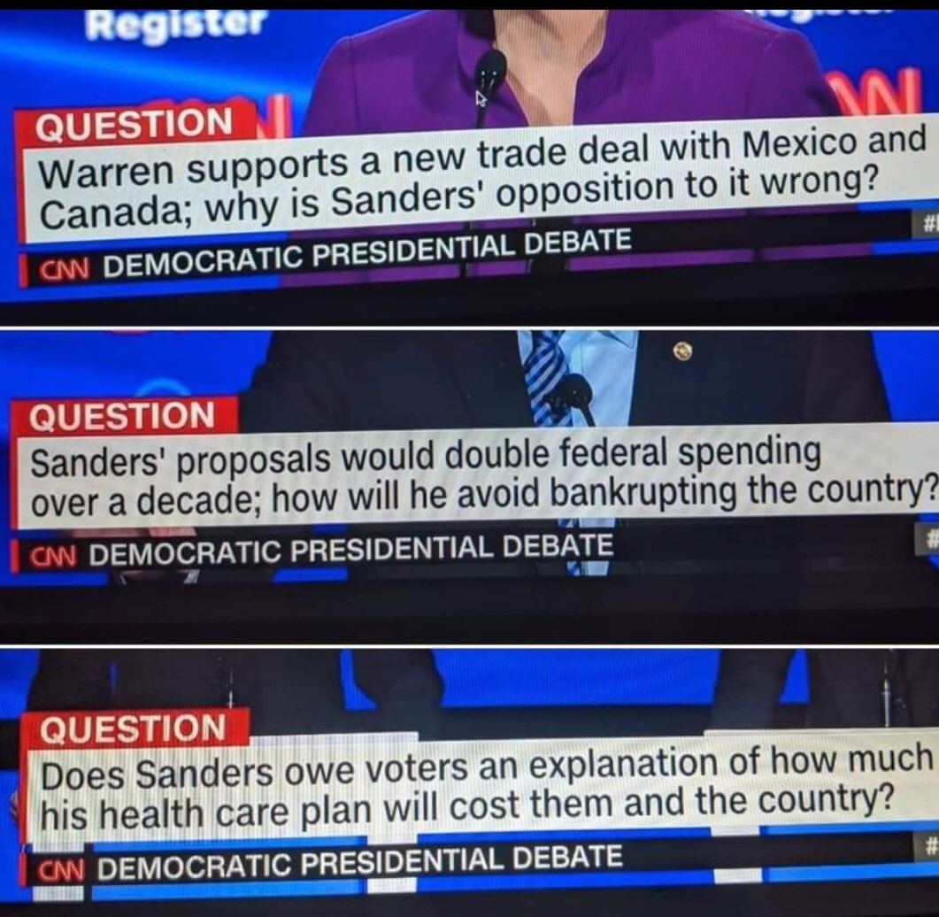 Oh @CNN, this question framing is interesting.😒😳🤬#DemocraticDebate