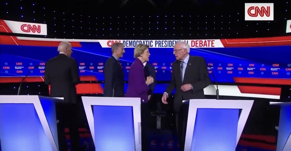 #CNNisTrash unites political rivals after network hammers Sanders in Democratic debate