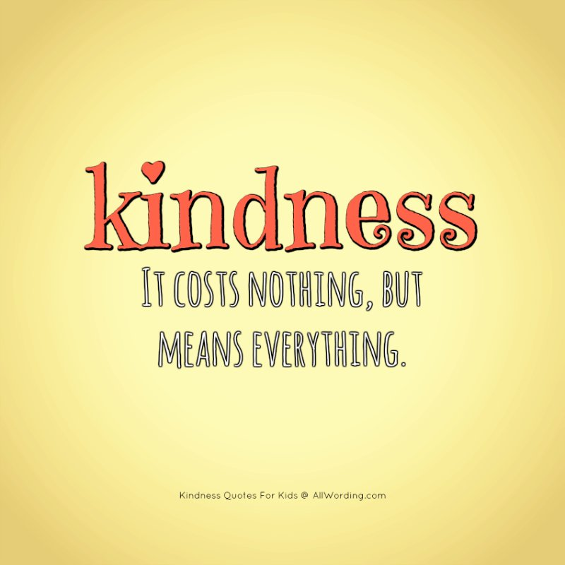 KINDNESS It Costs Nothing, But Means Everything.  #RainKindness #TuesdayThoughts  #GiftKindness #inspiringquote #waytolive #StarfishClub  #Familytrain #GoldenHearts #JoyTrain #ThinkBIGSundayWithMarsha<br>http://pic.twitter.com/68KoyxapqA