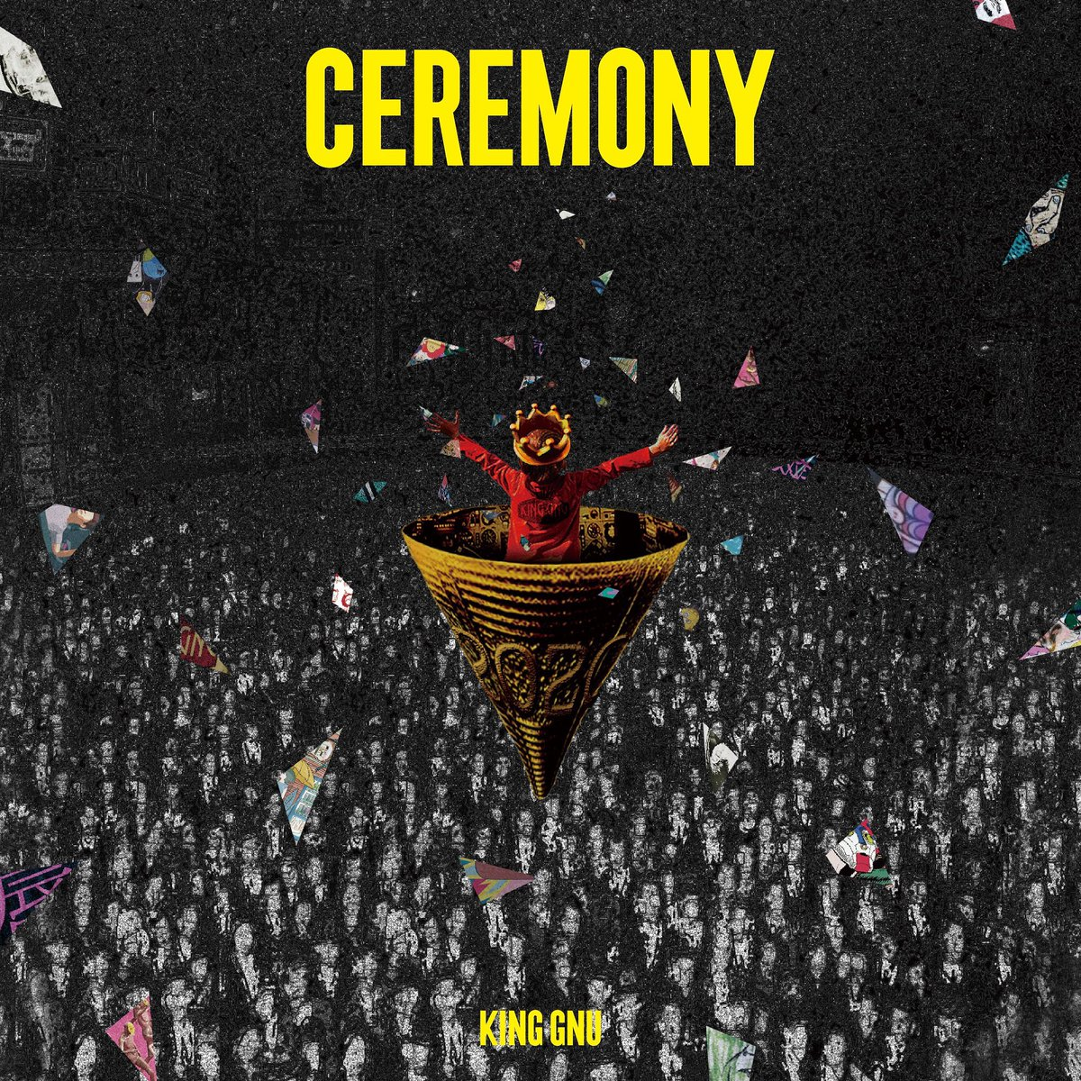 発売日じゃー!!!!!!!!!#KingGnu#CEREMONY