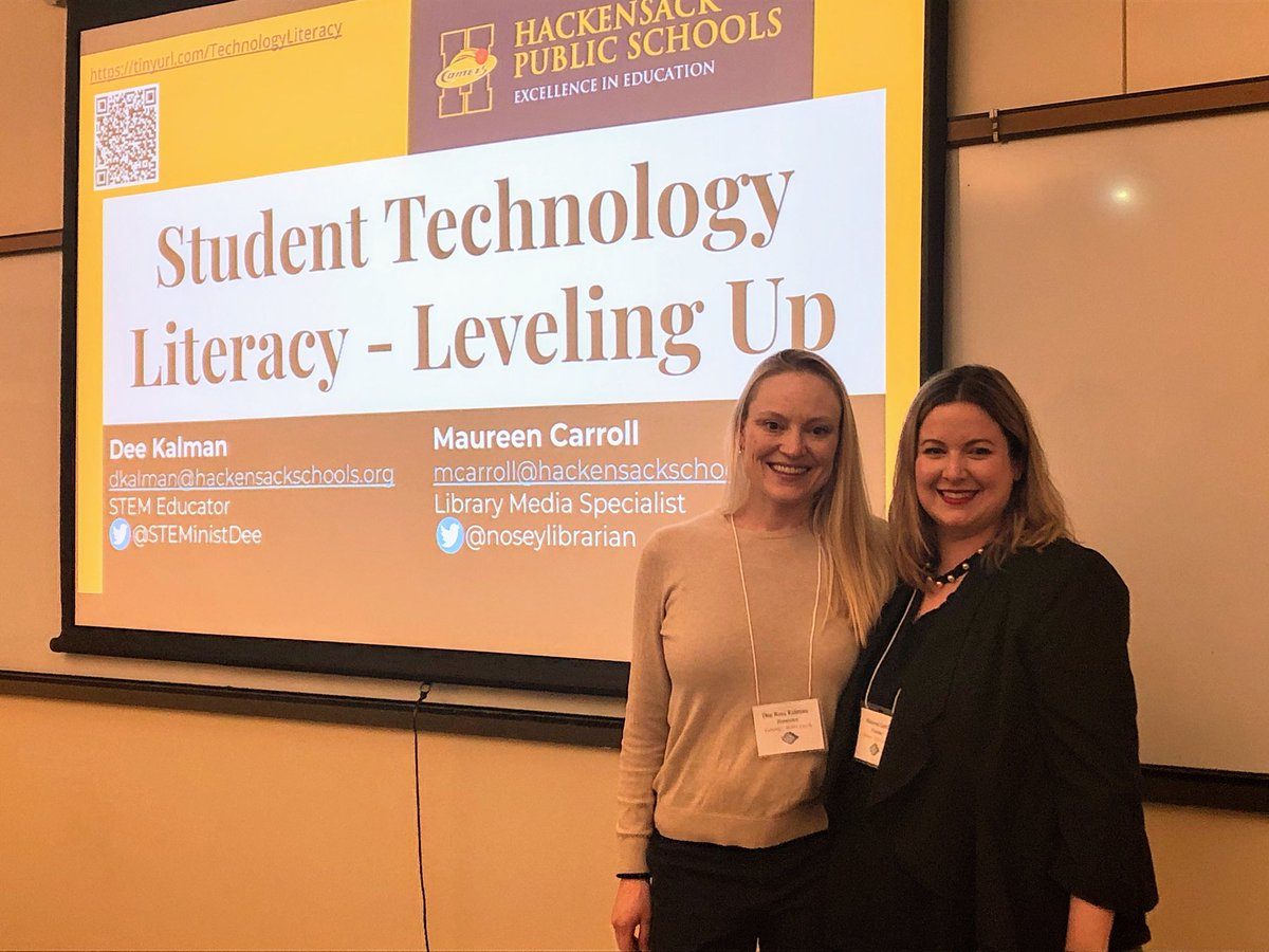It was so great to represent @HPSComets and present with my friend & colleague, @noseylibrarian at #NJECC2020 <br>http://pic.twitter.com/LXKg2Ba0Lf