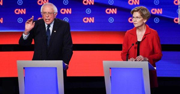 Elizabeth Warren and Bernie Sanders set for debate showdown after non-aggression pact breaks down cnn.it/2tk2Rwj
