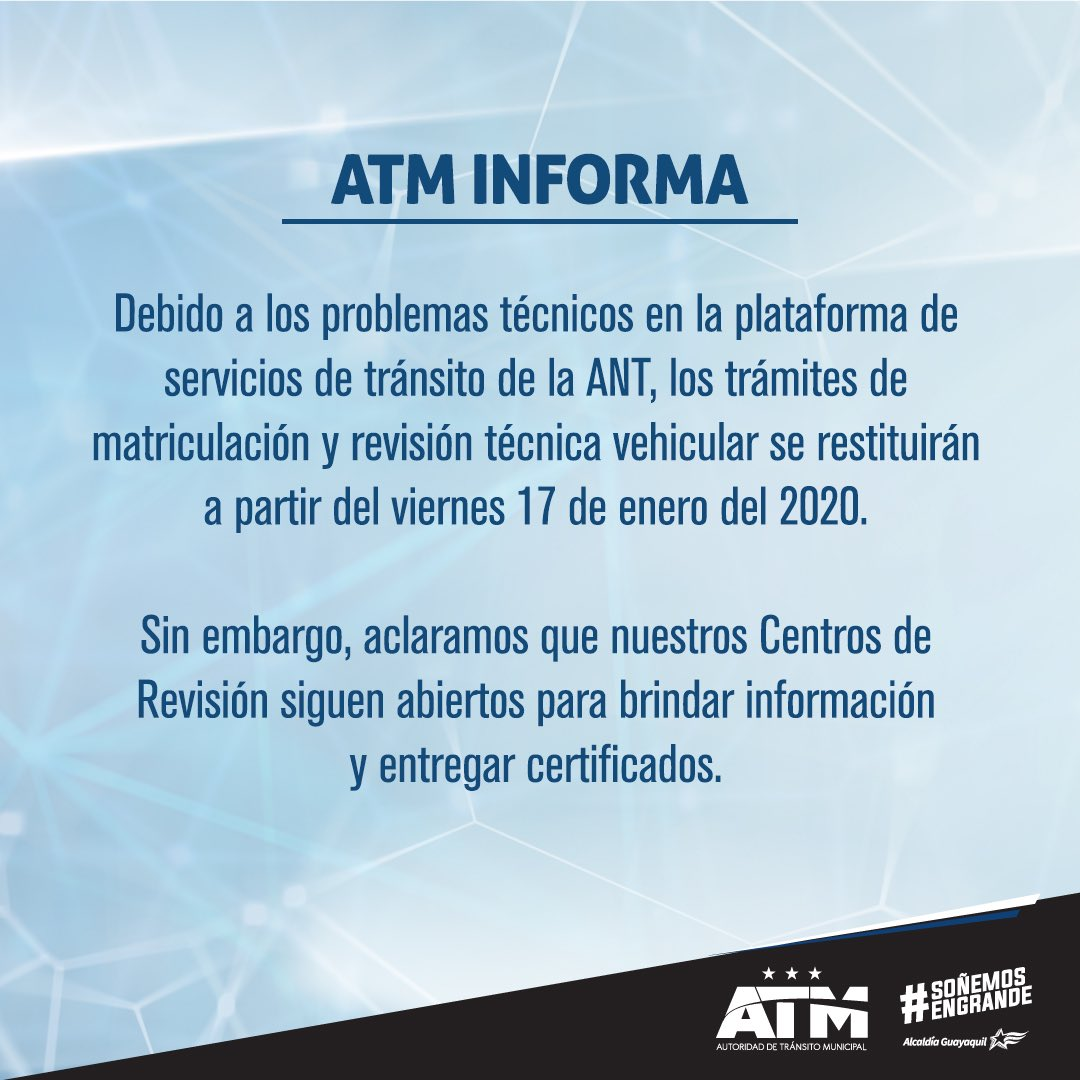 #ATMInforma