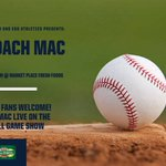 Image for the Tweet beginning: New head baseball coach Mike