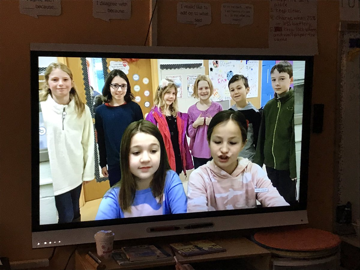 Ss in our class were featured on the McK news because they completed the Winter Reading Challenge  <a target='_blank' href='http://twitter.com/McKinleyReads'>@McKinleyReads</a> created for us!! Our librarian sure knows how to make reading fun! ❤️ 📚 <a target='_blank' href='http://search.twitter.com/search?q=mckaps'><a target='_blank' href='https://twitter.com/hashtag/mckaps?src=hash'>#mckaps</a></a> <a target='_blank' href='http://twitter.com/APSMcKPR'>@APSMcKPR</a> <a target='_blank' href='http://twitter.com/chbrownmckcard'>@chbrownmckcard</a> <a target='_blank' href='http://twitter.com/GMilleratMES'>@GMilleratMES</a> <a target='_blank' href='https://t.co/ka9x1gU6hC'>https://t.co/ka9x1gU6hC</a>