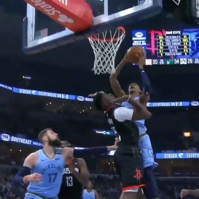 Ja doesn't fear anyone 💪 (via @NBA)