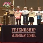 Image for the Tweet beginning: Congratulations first graders for a