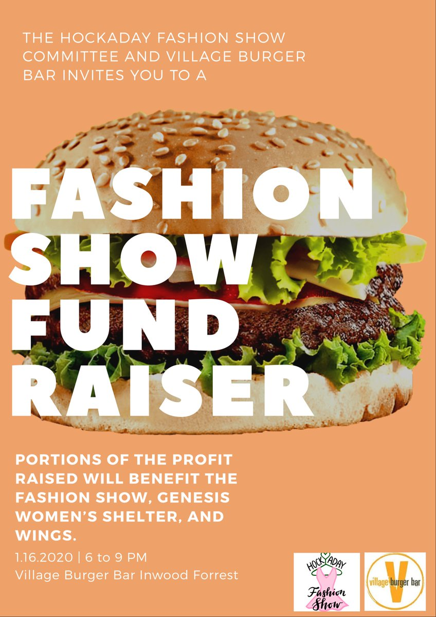 test Twitter Media - See you this Thurs, 1/16 6–9pm @ Village Burger Bar for a delicious way to support WiNGS! Hockaday will be promoting their fashion show where we will be featuring our entrepreneur's merchandise! Burgers + Social Impact = our kind of dinner! #VillageBurgerBar #socent https://t.co/xzVhKIuP0p