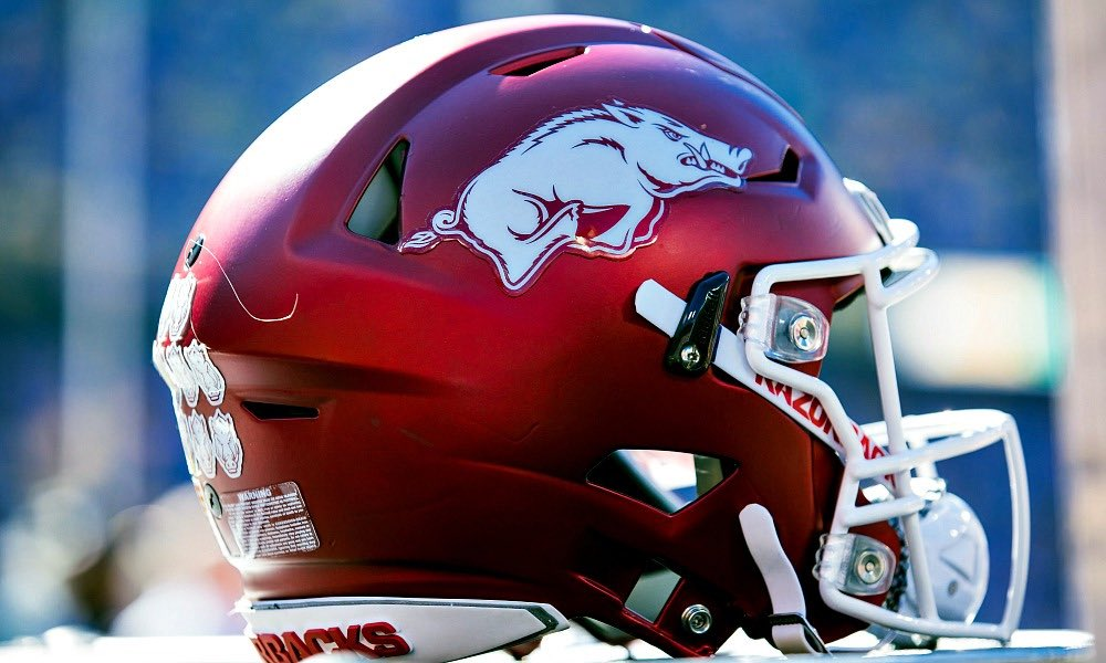 EXTREMELY BLESSED TO RECIEVE AN OFFER FROM THE UNIVERSITY OF ARKANSAS 🐗 #WooPig