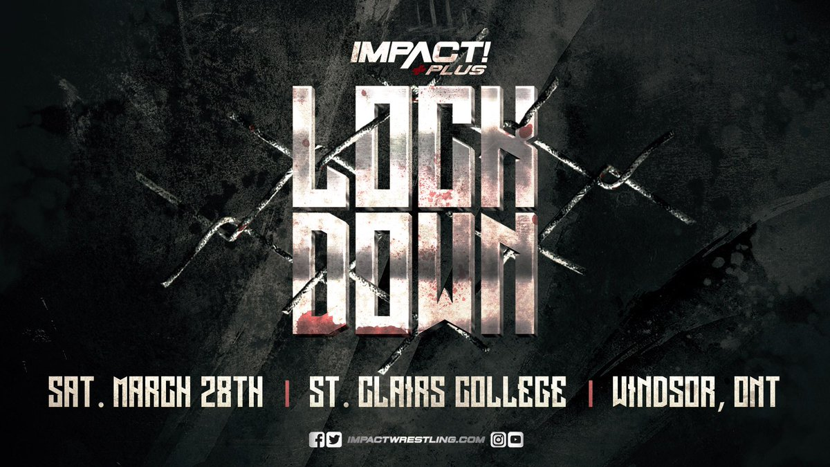 Impact Announces The Return Of 'Lockdown'