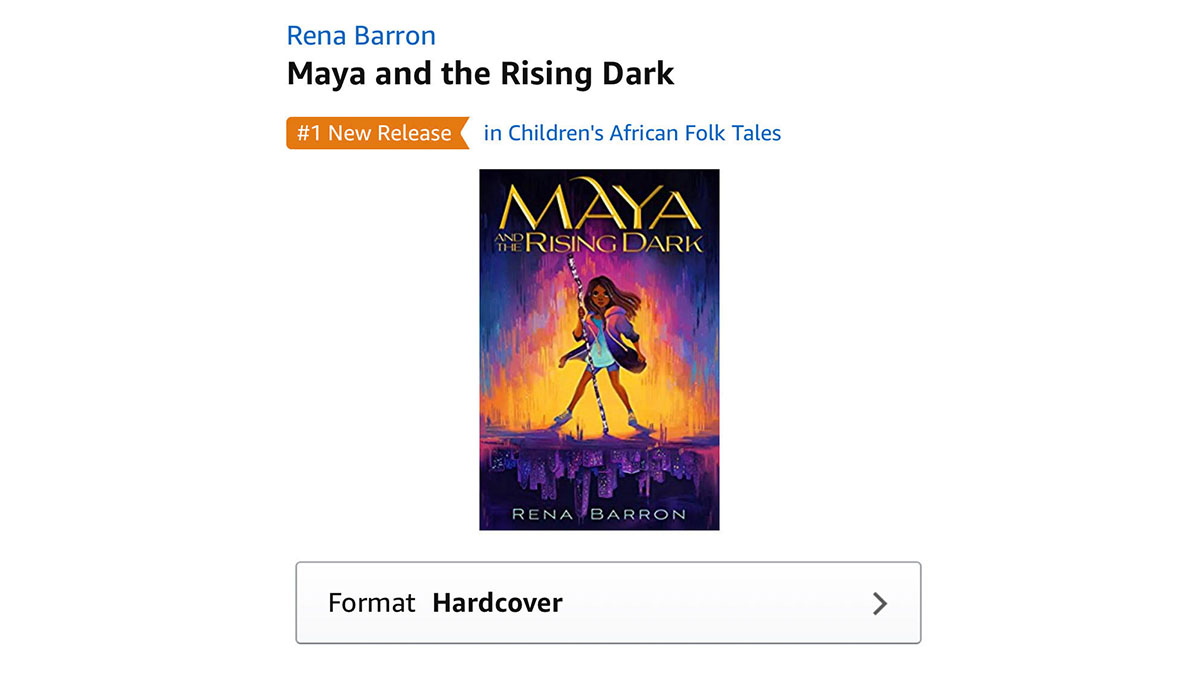 Wow #MayaAndTheRisingDark is a #1 Release. Thank yall 😭 12-year-old Maya's search for her missing father puts her at the center of a battle between Chicago, the gods, and the sinister Dark world. Pre-order: bit.ly/MayaSavesTheWo… Add on Goodreads: bit.ly/MayaonGoodreads