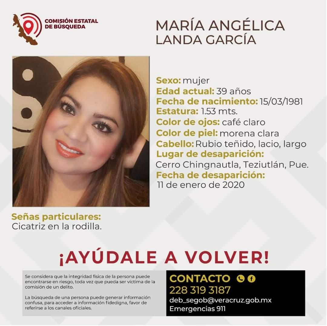 Desaparecida en Puebla