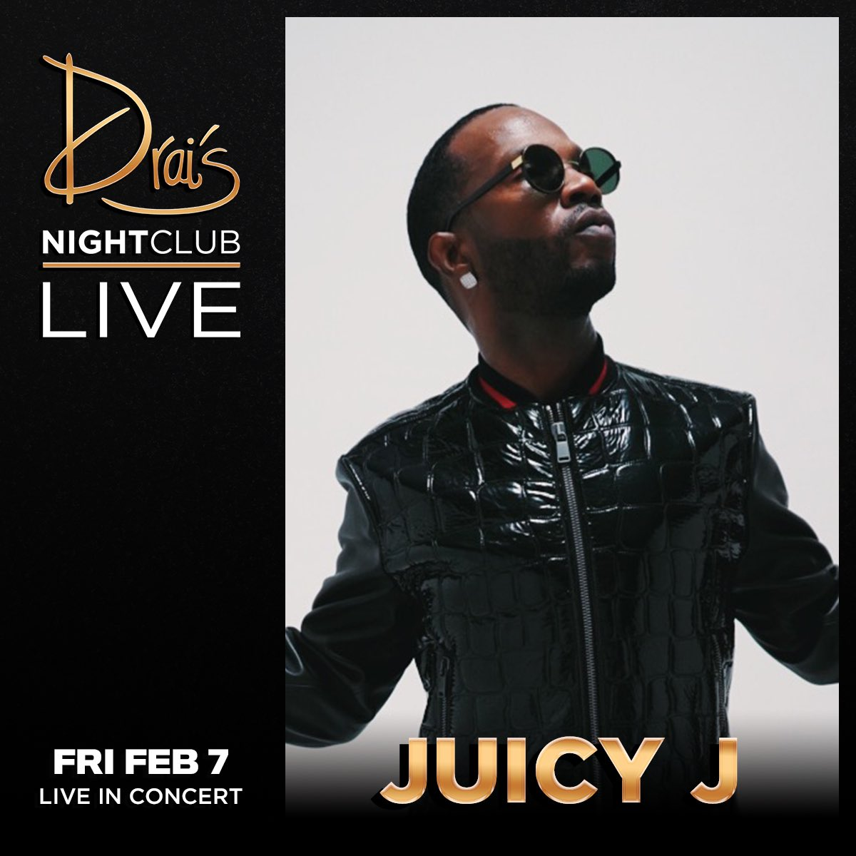 @DraisLV feb 7th I'm performing! pull up drinks on me for tickets link in bio