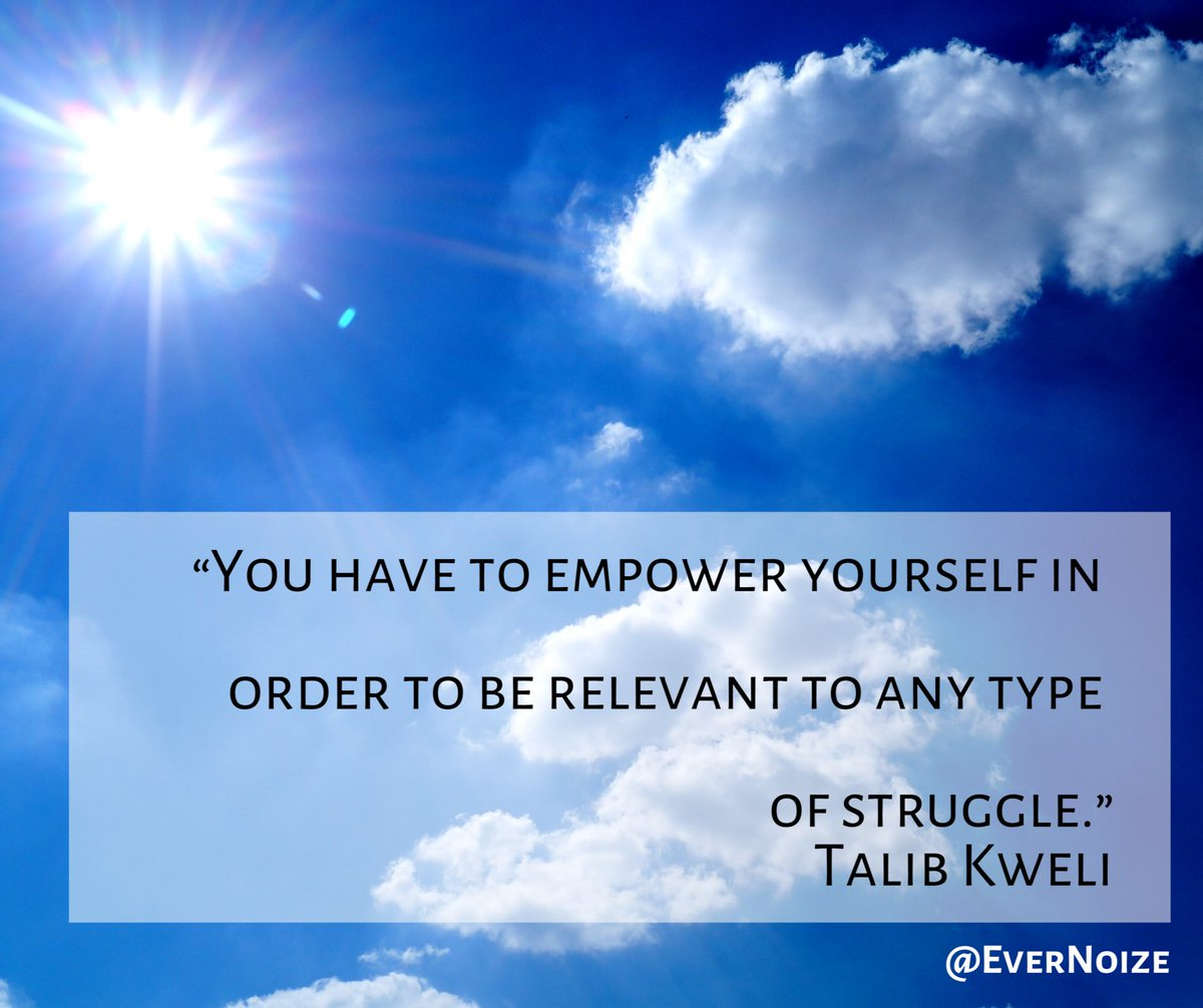 When I feel overwhelmed by doubt, I find this one quite helpful. What about you?   #empower #responsibility #inspiringquotes #music #musician #rock #rockmusic #triphop #triphopmusic #triprock #triprockmusic #electronicmusic #electronica #talibkweli<br>http://pic.twitter.com/92t98Ekyox
