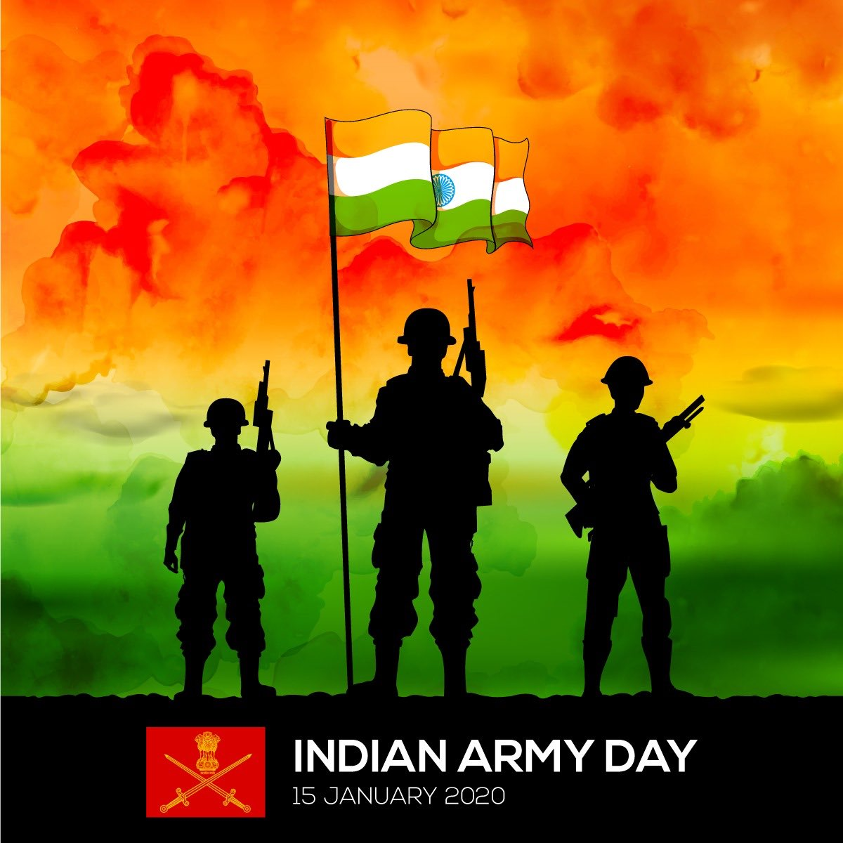 Greetings to all Indian Army personnel, ex-servicemen and their families on #ArmyDay . Gratitude and salute to their indomitable courage and selfless service to the nation.
