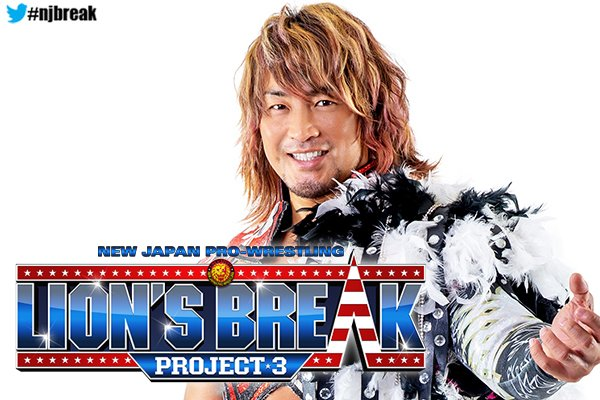NJPW Announces Lion's Break Project 3 Is Coming To Florida