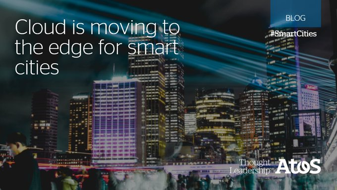 #SmartCities are complex, enormous #IoT deployments with both #edge and #cloud as underly...