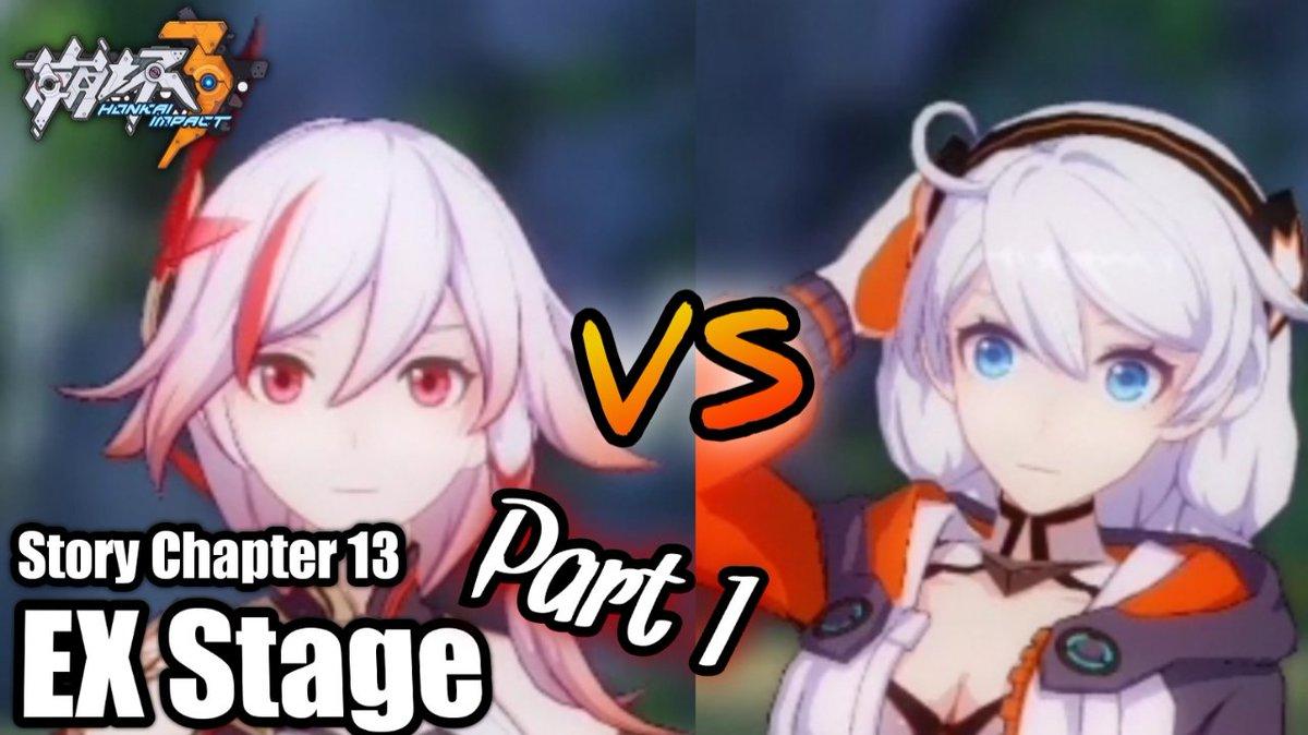 Honkai Impact 3 - Chapter 13 EX Stage Part 1   #honkaiimpact3 #honkaiimpact3rd #mihoyo #game #mobile #youtubegaming